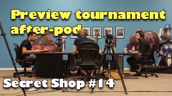 Preview Tournament After-Pod - What happened at the BTS Tournament?Podcast/Video - Secret Shop - November 13, 2018
