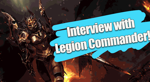 Interview with Legion Commander - Talking life in the Bronze LegionVideo - Neon - January 18, 2019
