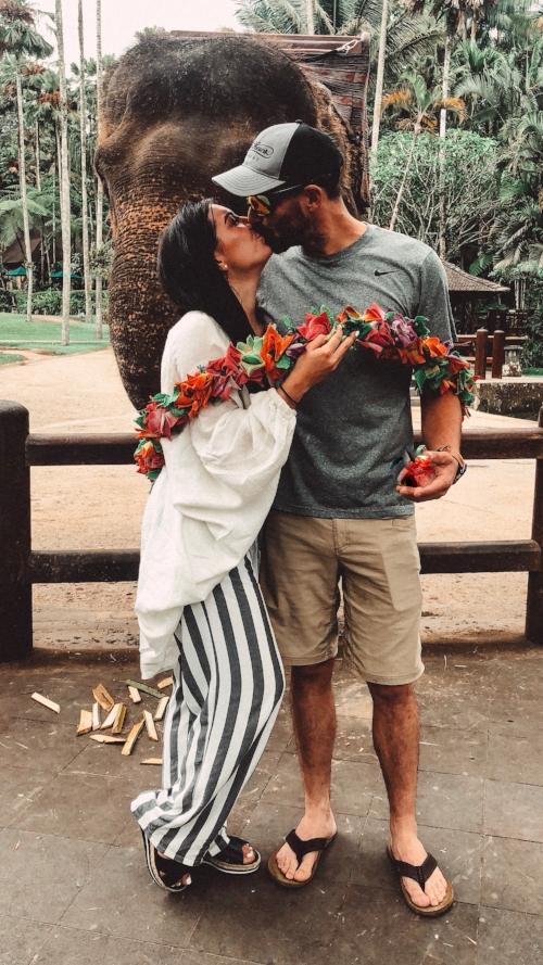 Kyle (boyfriend) Borris (elephant)