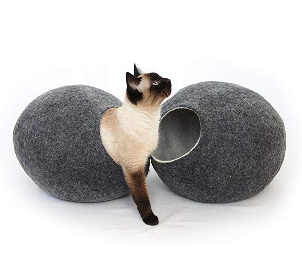 Dark Grey Cat Pod