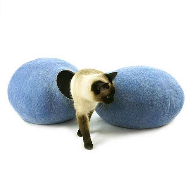 Light Blue Cat Pod