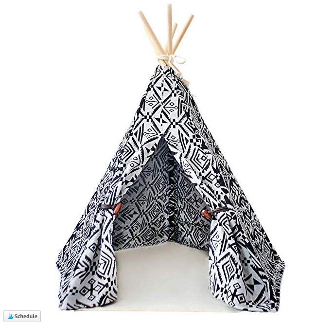 Patterned Pet TeePee