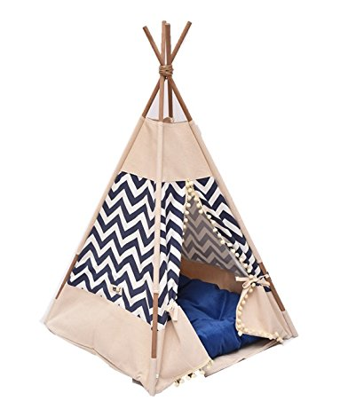 Blue and White Thai TeePee
