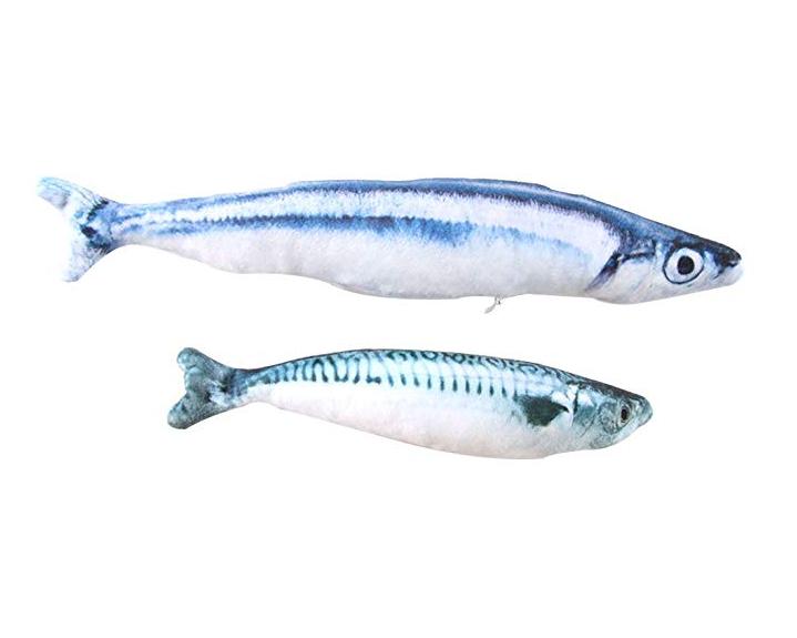 Skinny Catnip Fishies