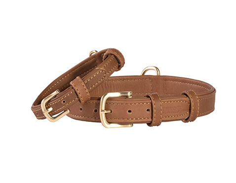 Leather dog collar handmade.jpg