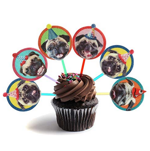 funny pug party toppers.png