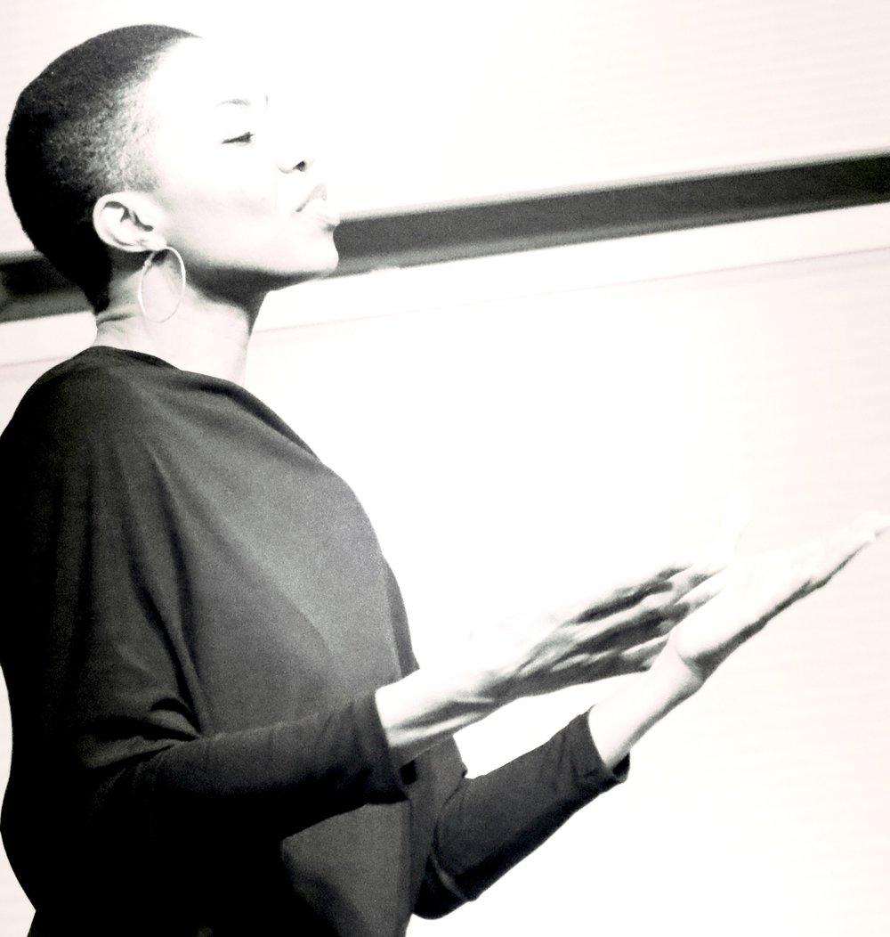 _#2 B & W Speaking StagePhoto-ElleSwan.jpg