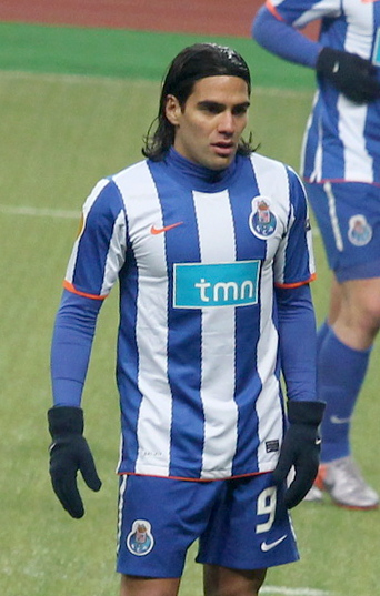 Radamel Falcao was one high profile player to represent Porto. Photo author: Amarhgil. License: https://creativecommons.org/licenses/by-sa/3.0/deed.en.