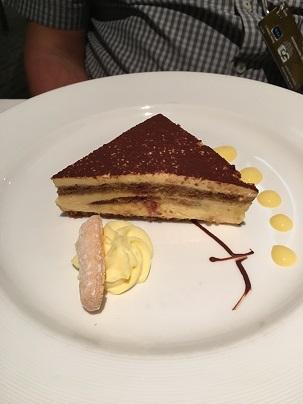 cruise food dessert