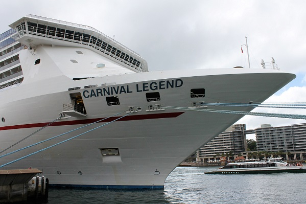 Carnival Legend in Sydney