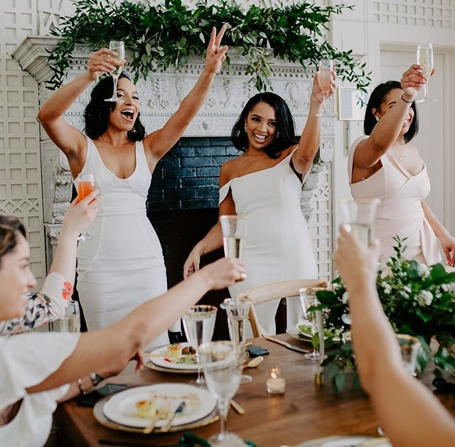Bride squad goals! Cheers, love, & peace. 🥂❤️✌🏻#Repost via @towardsthemoon⠀⠀⠀⠀⠀⠀⠀⠀⠀ .⠀⠀⠀⠀⠀⠀⠀⠀⠀ #Repost #GirlSquad #BrideSquad #GirlPower #GirlBoss #WomenSupportingWomen #WhoRunsTheWorld #Yes #StandTogether #Wedding #Us #SoGood #WeddingParty #Bridesmaids #MaidOfHonor #This #SquadGoals #Squad #BrideVibes #WomensMarch #ILoveUs #WeddingPlanning #Engaged #WeddingGoals #Cheers #Love #Peace #Goals