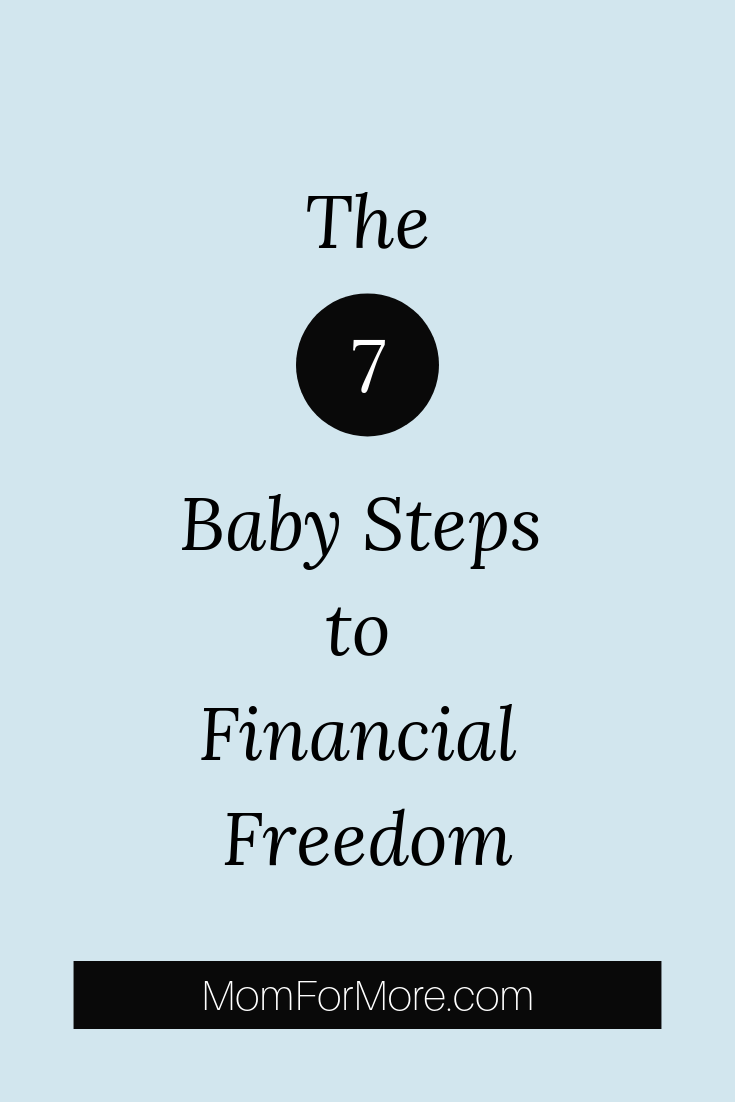 Baby Steps to Financial Freedom