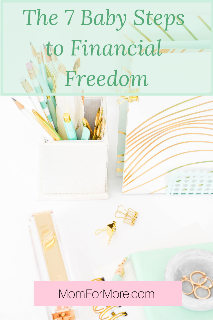 The 7 baby steps to financial freedom