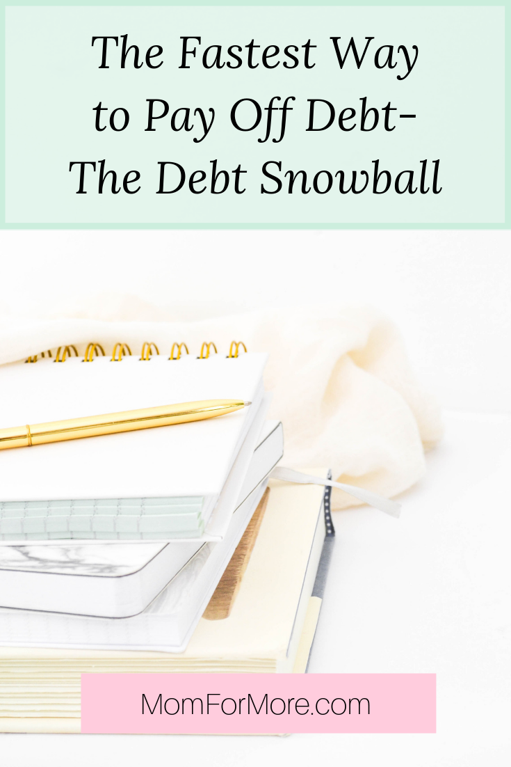the fastest way to pay off debt - the debt snowball