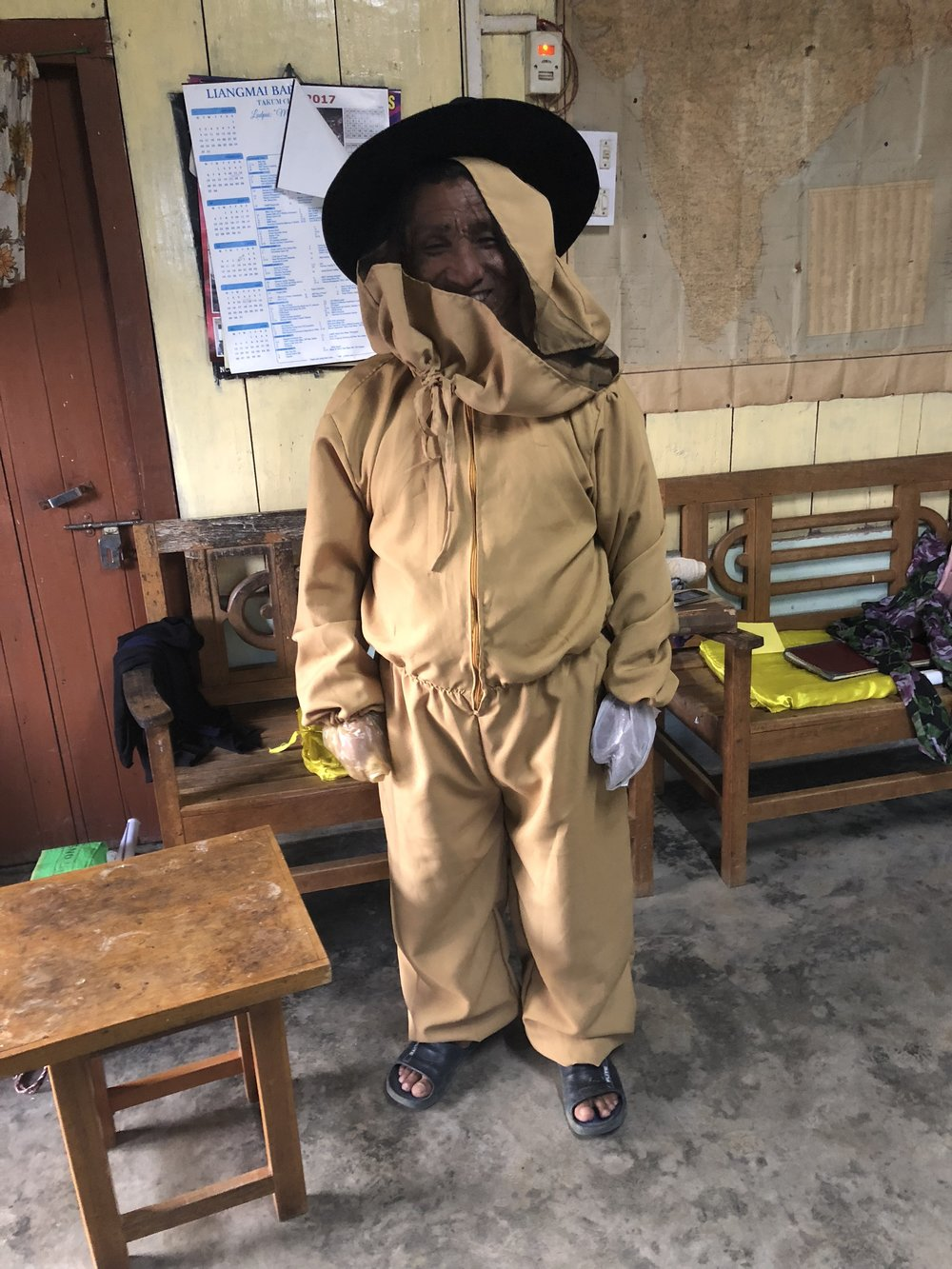 A local beekeeper