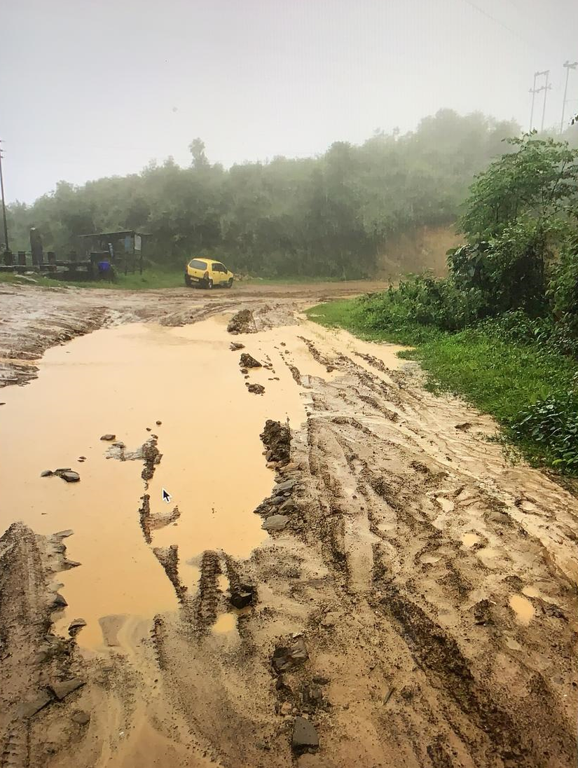 Main road from Dimapur