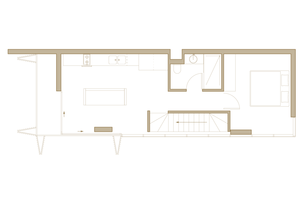 Upper Floor Residential Area
