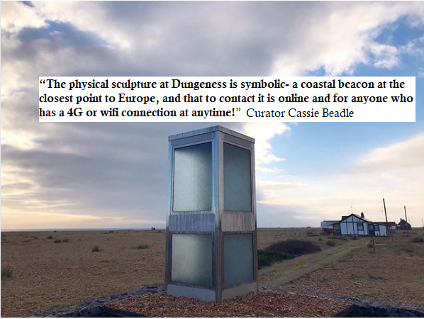 On site, Dungeness Britian's only desert.