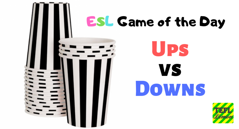 ESL Game of the Day paper cups.png