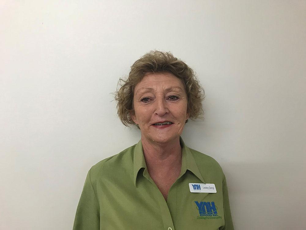 Lesley Gangi - Centrelink Agency Coordinator