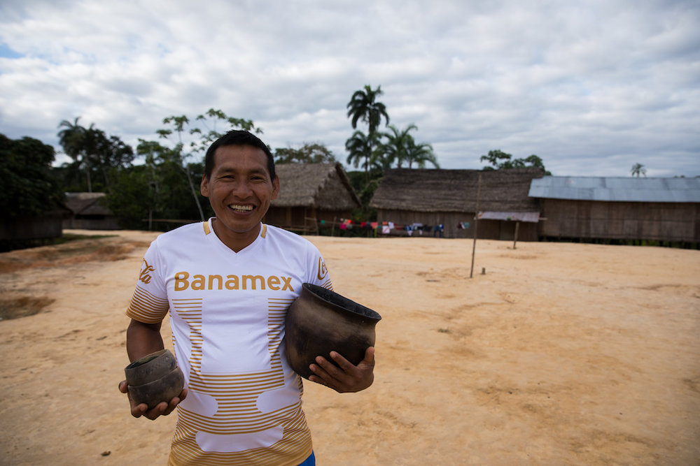 Segundo Reyna, the man in charge of organising the fair-trade with all the artists in multiple villages.
