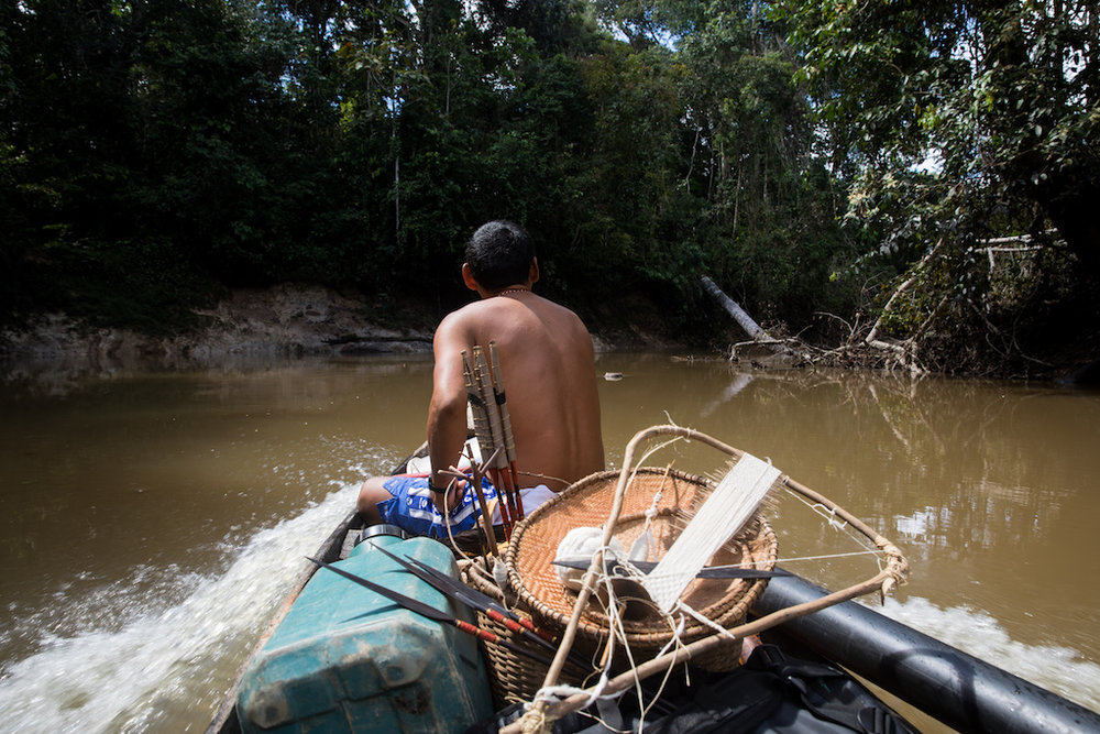 The art can take days of canoe travel before even reaching the jungle outpost of Angamos.