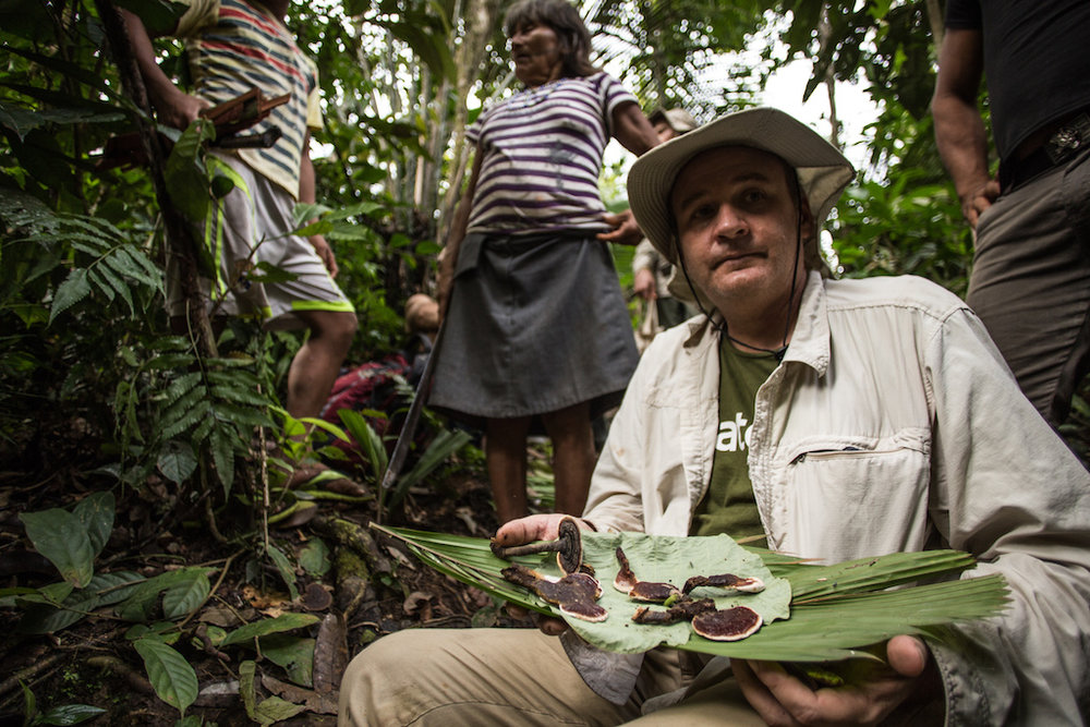 William Park, sustainable agriculturist and co-founder of Acaté Amazon Conservation.