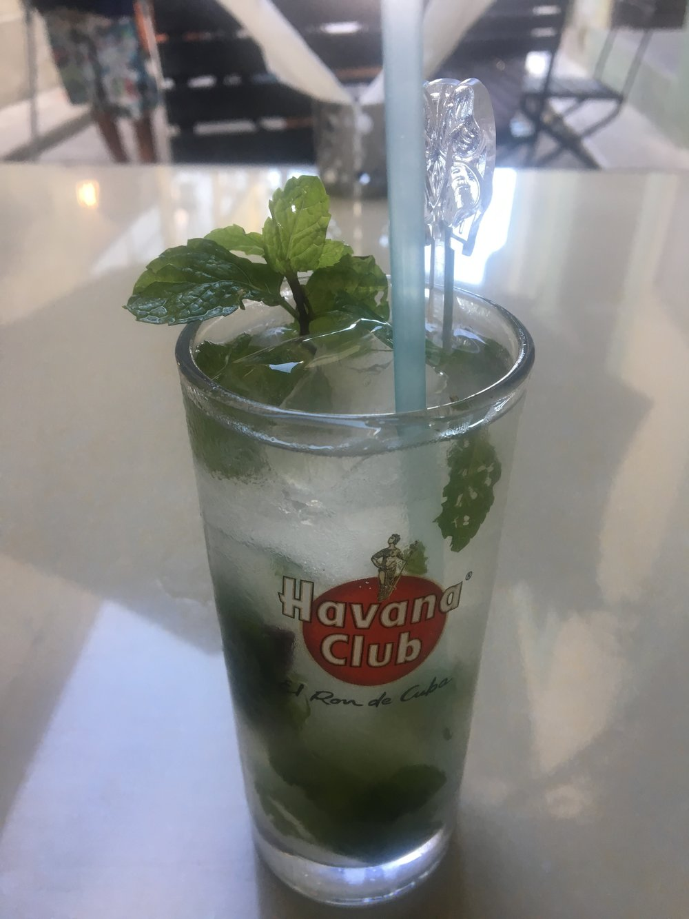 The first of MANY Mojitos!