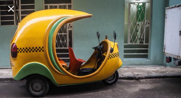 A Coco Taxi