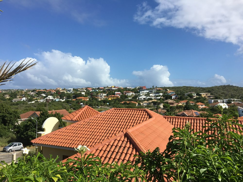 City view of Wilemstead Curaçao'