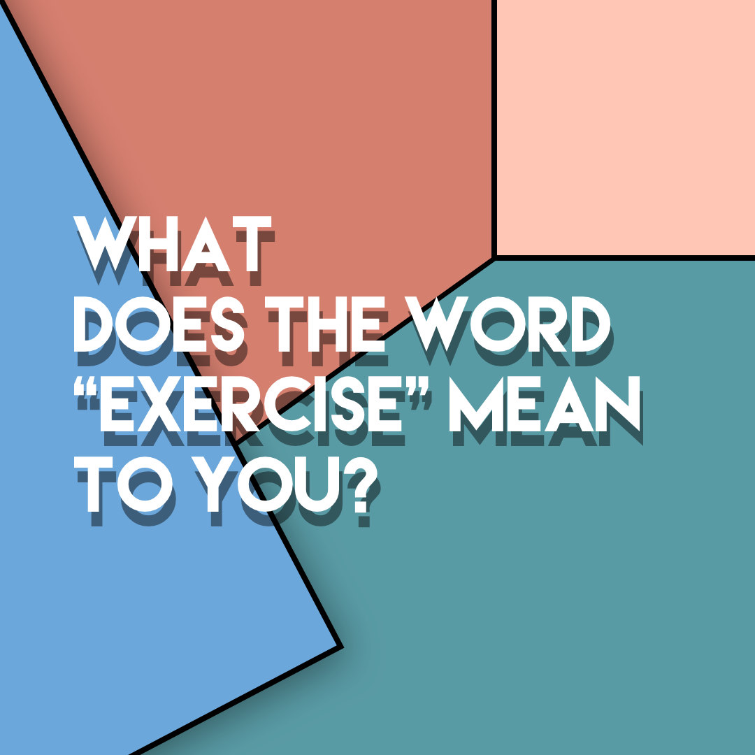 What Does The Word Exercise Mean You Tribe Mcr