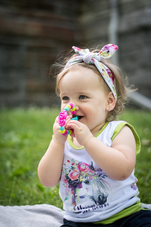 Anneau de dentition - En bois ou en silicone, d'agréables couleurs et textures pour stimuler les sens des tout-petits!