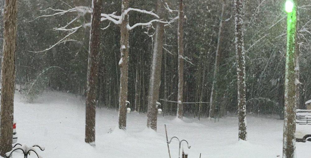 Windchime-like, Crystal Icicles - Aaaaaaaaah the excitement of winter weather!