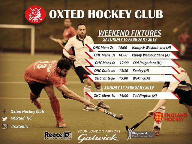 Come on the O's! Wishing all our teams best of luck this weekends fixtures!💪🔓 #OxtedHC #fieldhockey #fixtures #clubculture #goodtimes #goodvibes #growth
