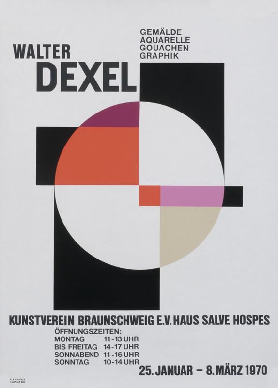 Walter DrexelKunstverein, Braunschweig,1970 -