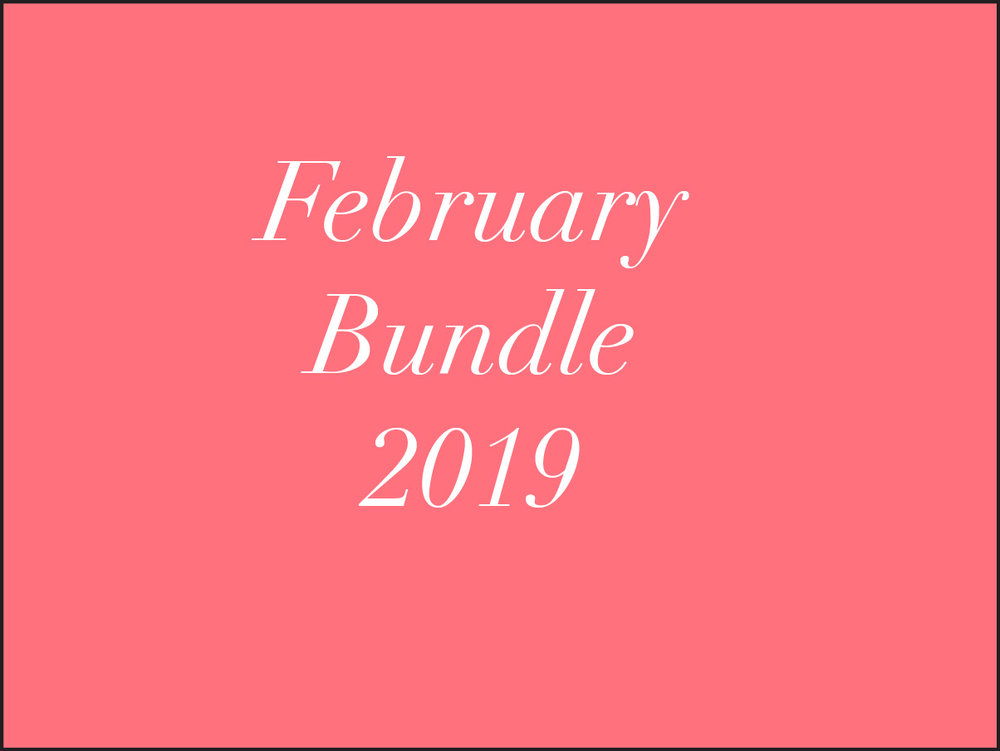2019 February Simplified Meals -