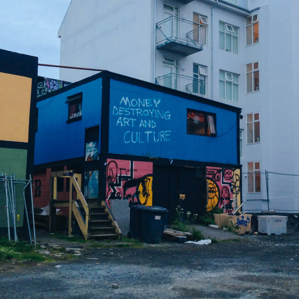 reykjavik has the best street art
