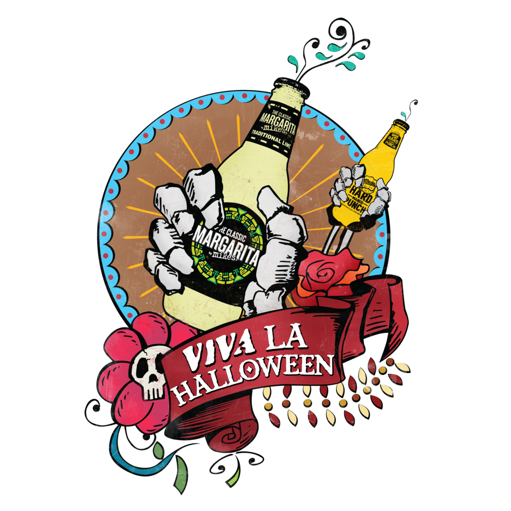 MIKES HARD LEMONADE VIVA LA HALLOWEEN PROGRAM LOGO (CONCEPT)