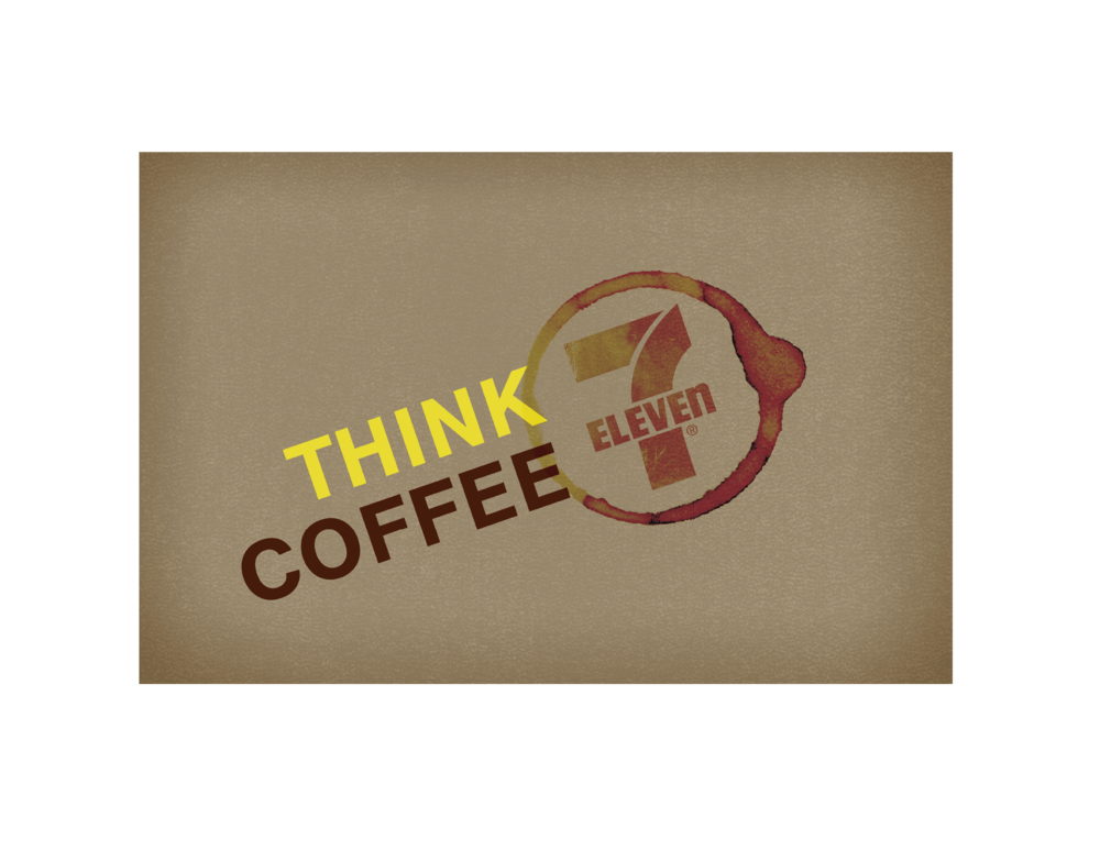 7 ELEVEN THINK COFFEE PROGRAM LOGO (CONCEPT)