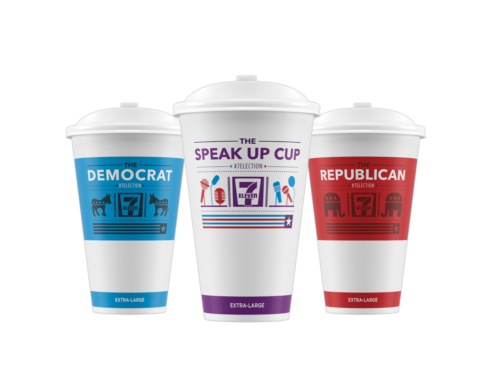 7 ELECTION 2016 CUPS