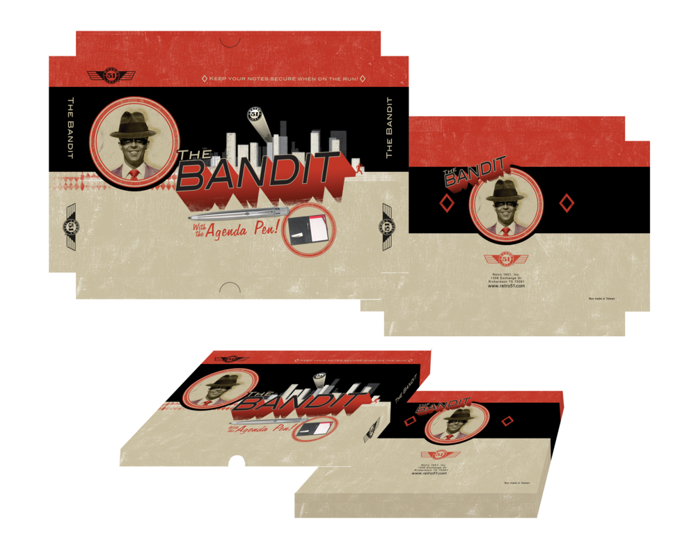 RETRO 1951 BANDIT LEATHER PLANNER