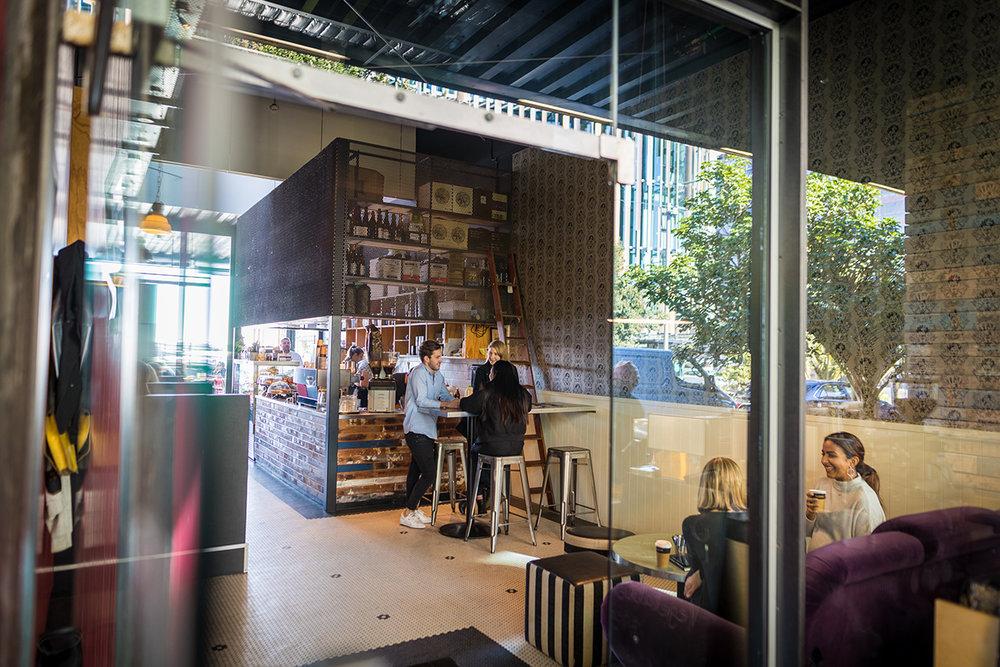 MacGregor Brothers flagship cafe