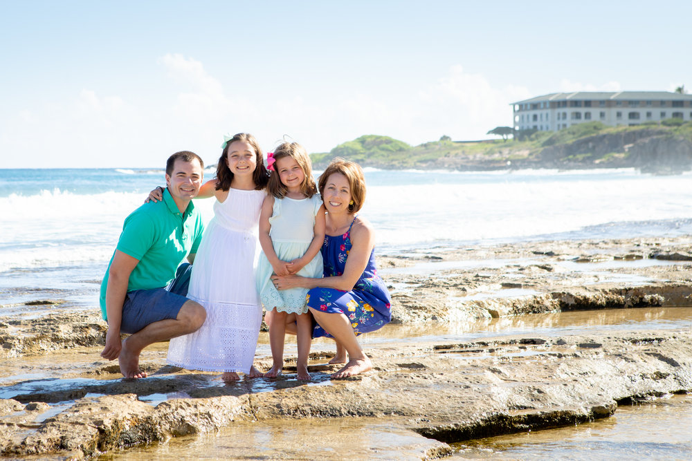 """Our first travel photo session, highly recommend. """"Katie in Kauai for Flytographer"""""""