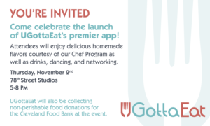 UGottaEat Hosts Event to Celebrate App Launch and Book Release