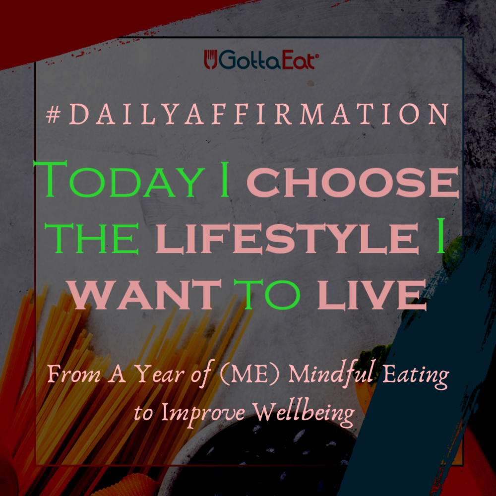 Today I Choose the Lifestyle I Want to Live
