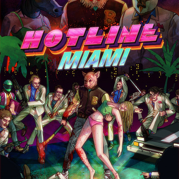 Hotline:Miami to me is best known for its stellar music mixed with its difficult, fast-paced action.