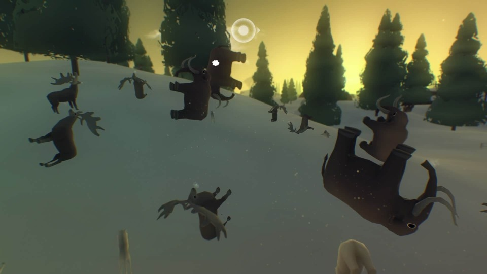 The silly yet charming movement animations of animals.