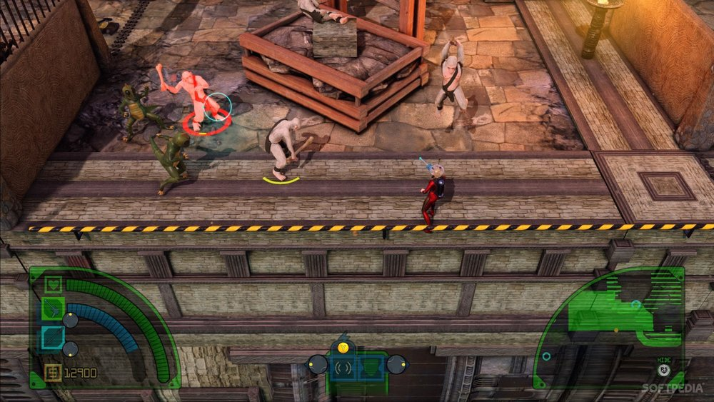 Guard rails in the game to make sure you don't fall.