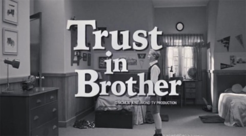 One of the trailers, which is similar to a 60s comedy show.