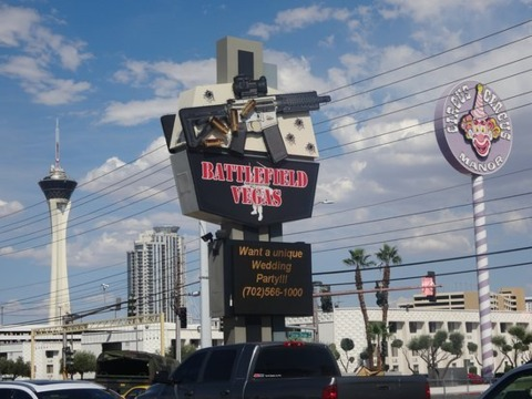 The range I shot at in Vegas.